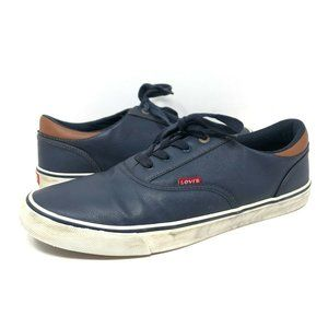 Levis Comfort Insole Blue Loafer Boat Shoes Lace